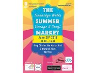 Tunbridge Wells Summer Vintage & Craft Market - on Saturday 30th June @ King Charles The Martyr Hall