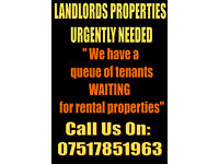 MORE RENTAL PROPERTIES NEEDED