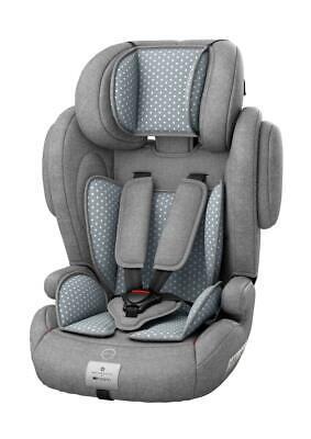 Osann Kindersitz Flux Plus bellybutton; Steel Grey grau Gruppe 1,2,3 9-36 kg...