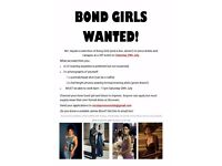 """BOND GIRLS WANTED"""