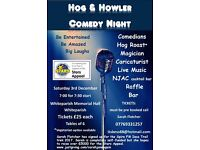 HOG & HOWLER Comedy Night - fundraising for Stars Appeal