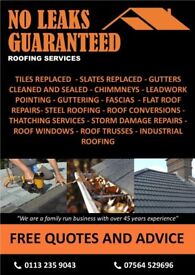 Roofing Services in Leeds