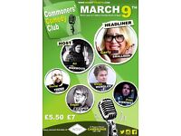 Commoners' Comedy Club 9th March
