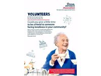 Volunteer Befrienders required in East Cornwall / Truro / Bude / Saltash with the RAF Association
