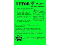 KS1, KS2 and Transfer Test Tutor
