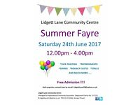 Summer Fayre - Lidgett Lane Community Centre