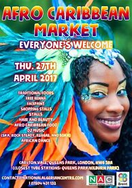 Looking for a hair stylist and Make-up artist for Afro-Caribbean Market event in Kilborn