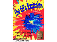 1960's Explosion - show with Janette Rose - Singer and Entertainer Yorkshire