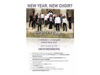 New year, New Choir? Central London Mixed choir seeking new members!