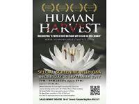"Special Screening of ""Human Harvest"","