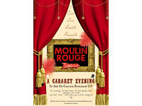 Can Can Events Presents: Moulin Rouge Cabaret Show - Fundraiser for Cancer Research UK