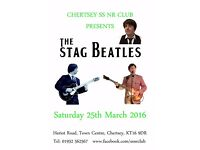 60s Live Music: The Stag Beatles (Chertsey SS NR CLUB)