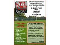 Galleywood Kestrels Open Training Session