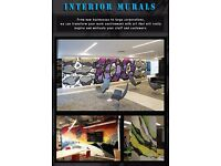 Professional mural Artist - Graffiti - Street art - sign writing.