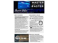 Master Public Speaking Faster: Communications Coaching