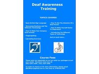 Deaf Awareness and British Sign Language