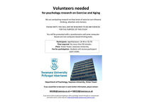 Volunteers needed for research study on ageing