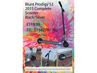 Blunt Envy Prodigy 2015 Scooter - Black/Silver