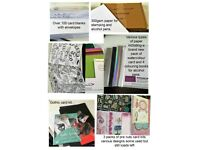 Craft/card making supplies great for beginner or just to expand your own collection.