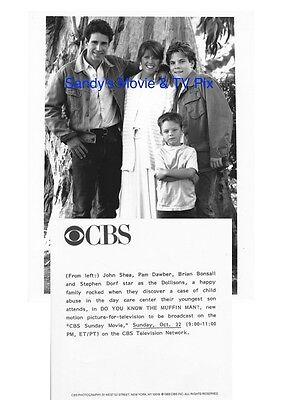 Pam Dawber  Brian Bonsall  Stephen Dorf  John Shea Original Tv Photo Do You Know