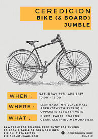 Aberyswyth bike and board jumble!