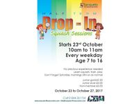 Kid's Squash - Half Term 'Drop In' Sessions in Thame