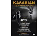 KASABIAN BIRMINGHAM x3 9th December