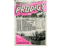 4x The Prodigy standing tickets, O2 Manchester Apollo, Thursday 14th December 2017