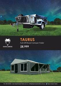Taipan-TAURUS Full Off-Road Soft Floor Camper 2017 Upgraded Model Brisbane City Brisbane North West Preview
