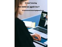 Online tutoring for children aged 4 to 7 yrs in Maths and English using Montessori philosophy.