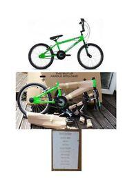 Raleigh Shock BMX still in box Shocking green colour