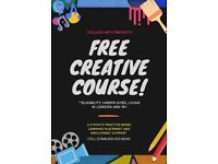 FREE Practice-based Learning Creative Courses (for Unemployed)