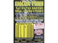Falcon Tyres & Hand car wash