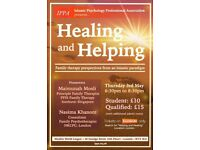 Healing and Helping: Perspectives from Islamic Psychology - CPD Certified Seminar