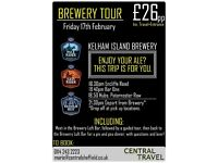 Kelham Island Brewery Coach Trip *Gift Experience*