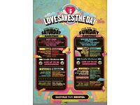 Love saves the day Saturday Ticket £35