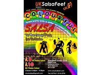 Colourful Salsa Party