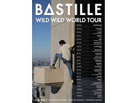 2 x Bastille standing tickets, Nottingham Arena, Saturday 5th November
