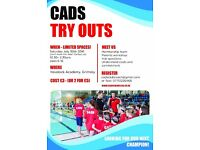 CADS Swimming Club Try Outs & Assessment