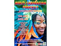 Looking for stall holders for African-Caribbean Market event in Kilburn