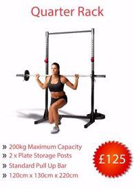 *NEW* Quarter Rack (Power Cage Squat Bench Gym)