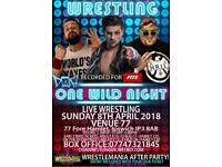 DOA WRESTLING + WRESTLEMANIA PARTY! SUNDAY 8th APRIL