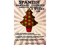 """Las Spanish Lessons"" January Courses"