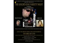 NEW MUSIC/MEAL VENUE - The Golden Egg Cabaret Club @ The Greedy Goose, Long Ashton, Bristol
