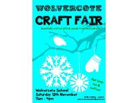 Wolvercote Craft Fair - looking for stallholders