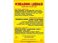 Leeds Festival Weekend Camping Tickets 🎪🎶🎪 (MANCHESTER/LEEDS)