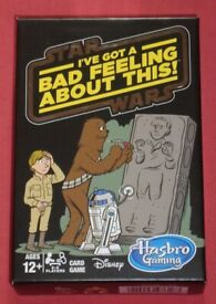 Star Wars 'I've Got A Bad Feeling About This' Card Game (new)