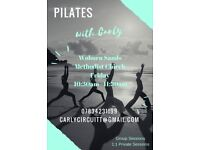Pilates Classes Friday 10:30am Woburn Sands Methodist Church