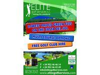 Green Fees - Golf Spain