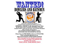 Springhill Cricket Club, Penn, Wolverhampton - get involved at your friendly local club